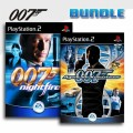 Playstation 2 - James Bond Nightfire + James Bond: Agent im Kreuzfeuer / Agent under Fire (mit OVP) (gebraucht)