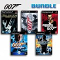 Playstation 2 - James Bond 5er Pack (mit OVP) (gebraucht)