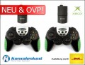 Xbox - 2 x Wireless Powershock Controller [Competition Pro] (NEU & OVP)