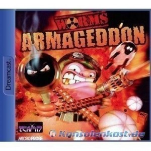 Dreamcast - Worms Armageddon (mit OVP) (gebraucht)