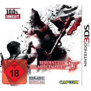 Nintendo 3DS - Resident Evil: The Mercenaries 3D (gebraucht) USK18