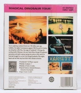 PC Engine / TurboGrafX - Magical Dinosaur Tour (NEU & OVP)