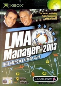 XBox - LMA Manager 2003 (mit OVP) (gebraucht)