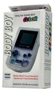 GameBoy Color - Body Boy -transparent- (NEU & OVP)