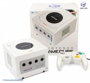 GameCube - Konsole Pearl White/weiß (inkl. Originalverpackung, Controller & Zubehör) (gebraucht)