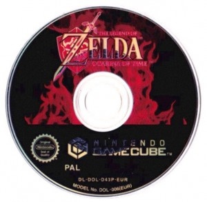GameCube - The Legend of Zelda - Ocarina of Time (nur CD) (gebraucht)