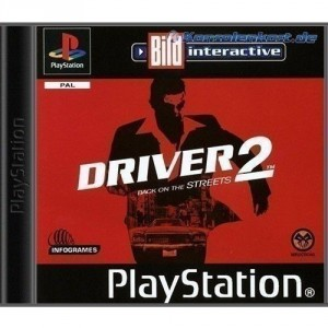 Playstation 1 - Driver 2 - Back on the Streets (mit OVP) (gebraucht)