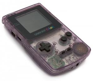 GameBoy Color - Konsole #Clear/Atomic Purple (gebraucht)
