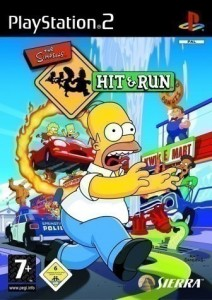 Playstation 2 - The Simpsons: Hit & Run (mit OVP) (gebraucht)