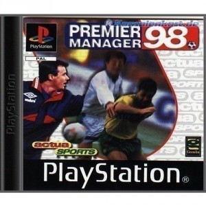 Playstation 1 - Premier Manager 98 (CD mit Anl.) (gebraucht)