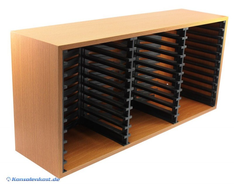 specials ps3 spieleregal aus holz f r 33 spiele ebay. Black Bedroom Furniture Sets. Home Design Ideas