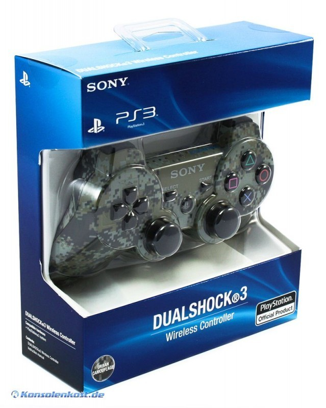 ps3 original dualshock 3 wireless controller urban. Black Bedroom Furniture Sets. Home Design Ideas