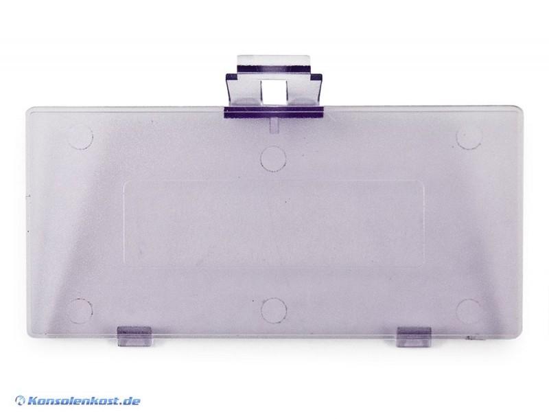 GameBoy Pocket - Batteriefachdeckel, Klappe, Deckel, Abdeckung, Battery Cover #lila-transp.