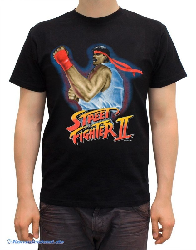 Merchandise - T-Shirt - Street Fighter II