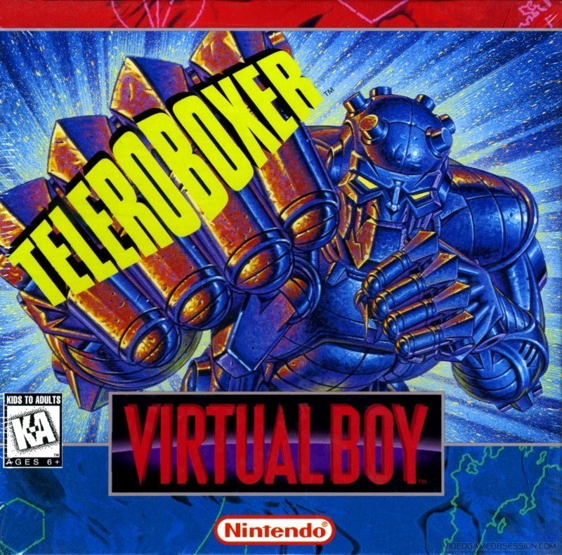 Virtual Boy - Teleroboxer