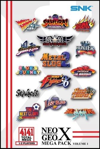 Neo Geo X - Mega Pack Volume 1