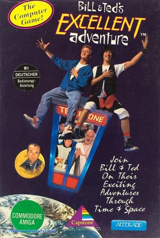 Detalles de Amiga - Bill & Ted's Excellent Adventure (boxed / Big Box