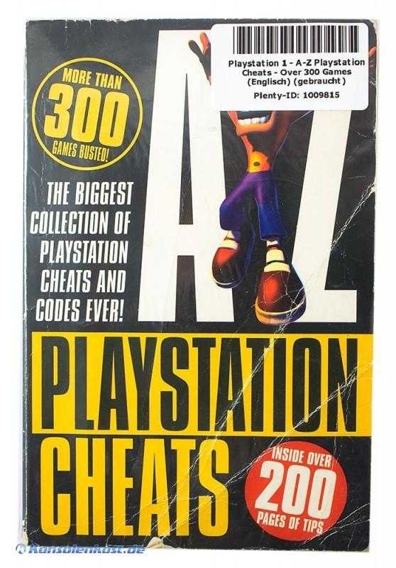 cheats playstation 1: