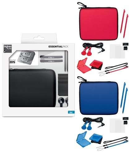 Nintendo 2DS - Essential Pack #farblich sortiert