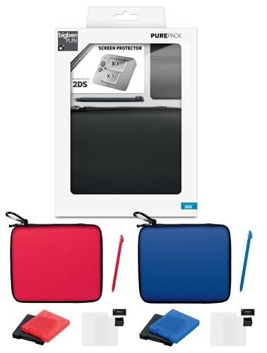 Nintendo 2DS - Pure Pack #farblich sortiert