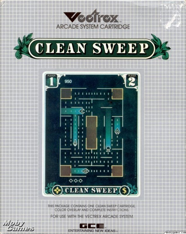 Vectrex - Clean Sweep
