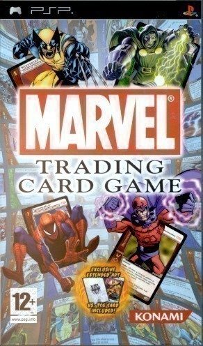 PSP-Marvel-Trading-Card-Game-gebraucht