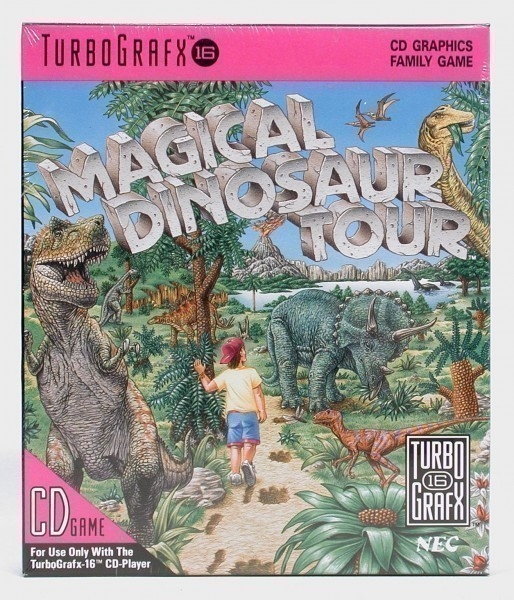 PC-Engine-TurboGrafX-Magical-Dinosaur-Tour-NEU-OVP