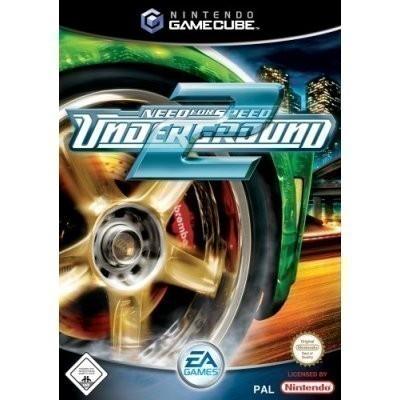 gamecube need for speed underground 2 englisch mit ovp gebraucht gamecube spiele rennspiele. Black Bedroom Furniture Sets. Home Design Ideas