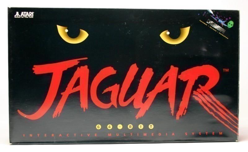 Retro-Atari-Jaguar-Konsole-Cybermorph-RGB-Scart-Kabel-NEU-OVP-Verpackun