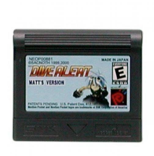 Neo Geo Pocket Color - Dive Alert Matt\'s Version