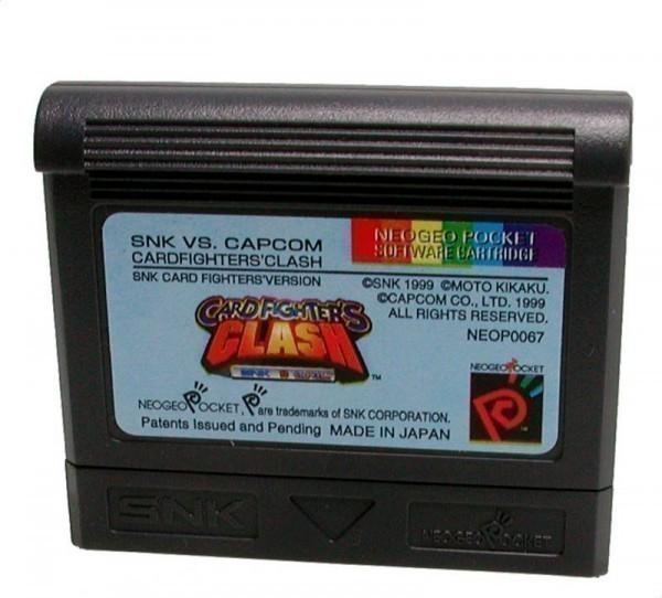 Neo Geo Pocket Color - SNK vs. CAPCOM - Cardfighters\' Clash