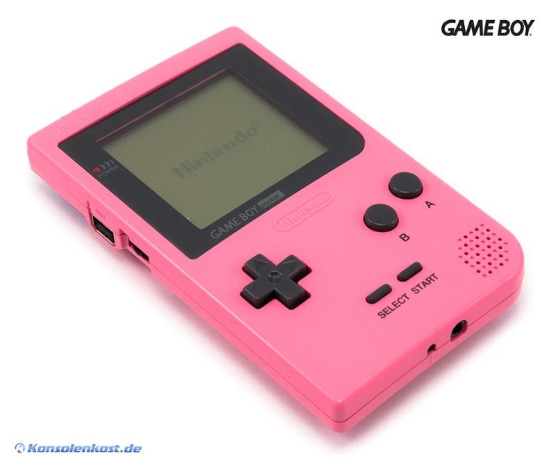 GameBoy Pocket - Konsole #pink