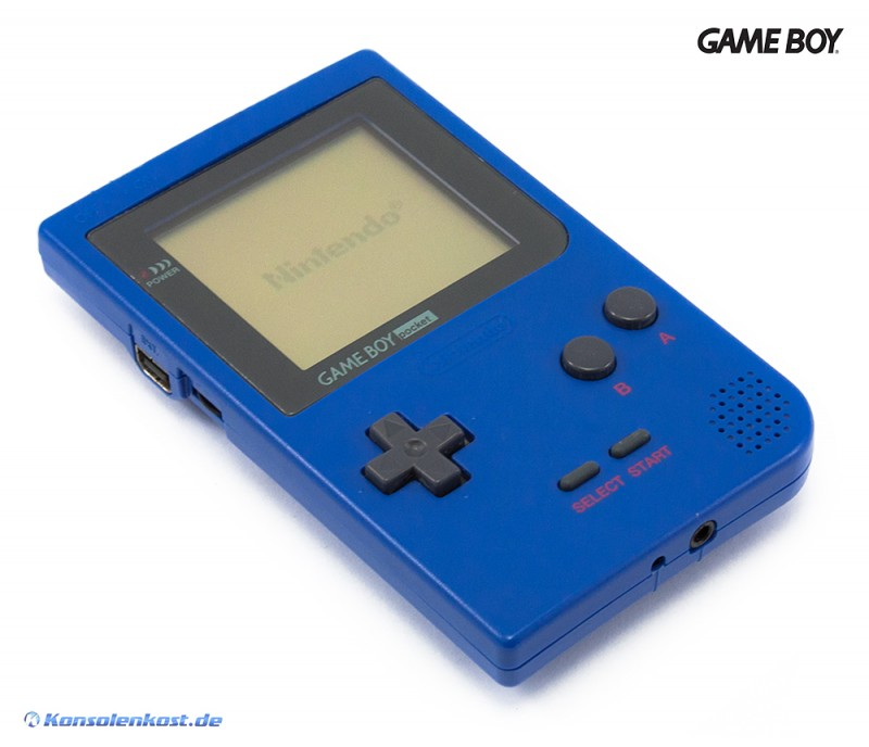 GameBoy Pocket - Konsole #blau