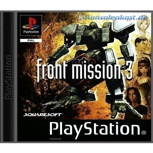 Playstation-1-Spiel-FRONT-MISSION-3-mit-OVP-fuer-Sony-PS1-PS2-PSX-PSOne