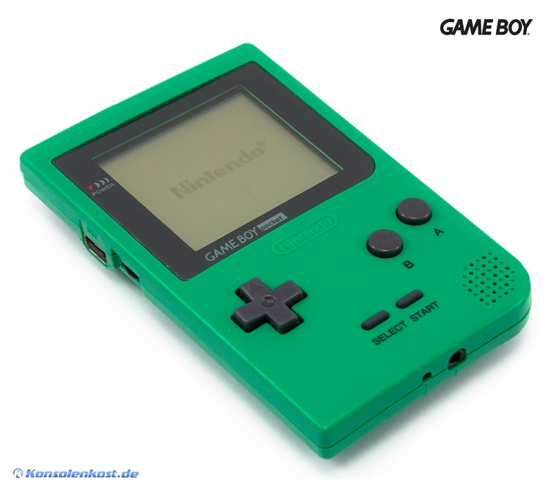 GameBoy Pocket - Konsole #grün