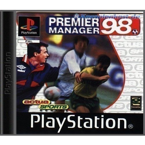 Playstation-1-Spiel-PREMIER-MANAGER-98-CD-mit-Anl-f-PS1-PS2-PSX-PSOne