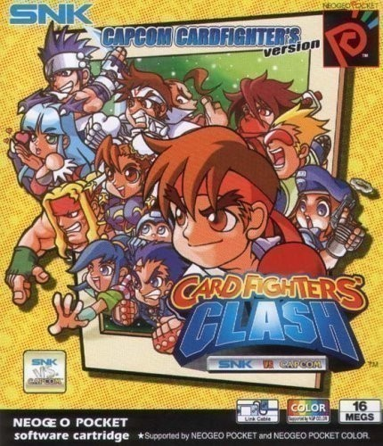 Neo-Geo-Pocket-Color-Card-Fighters-Clash-Modul-gebraucht