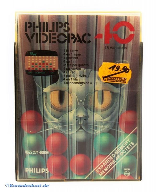 Philips Videopac - #40 4 Gewinnt