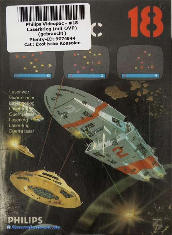 Philips Videopac - Laserkrieg #18