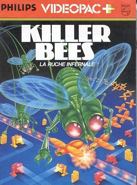 Philips Videopac - #52 Killer Bees