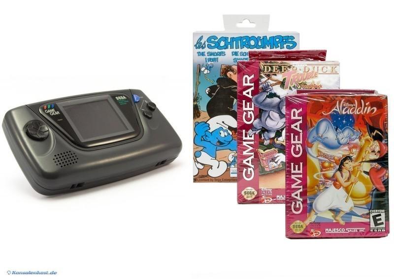 SEGA-Game-Gear-Konsole-Bild-Ton-wie-neu-inkl-3-neue-Spiele-in-OVP
