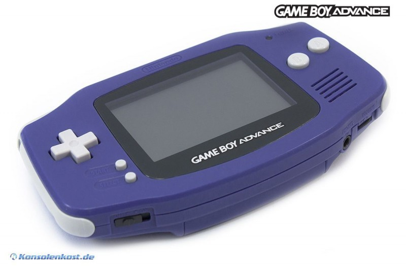 Gameboy Advance Konsole Purple Lila Gebraucht
