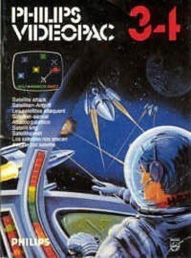 Philips Videopac - Satelliten-Angriff #34