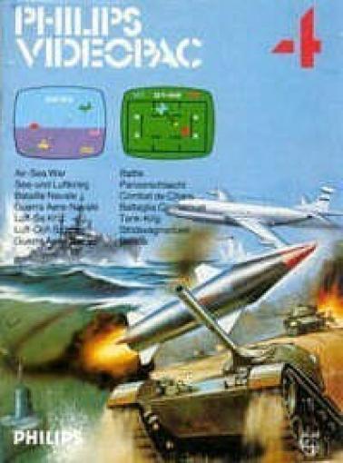 Philips Videopac - #4 See- und Luftkrieg