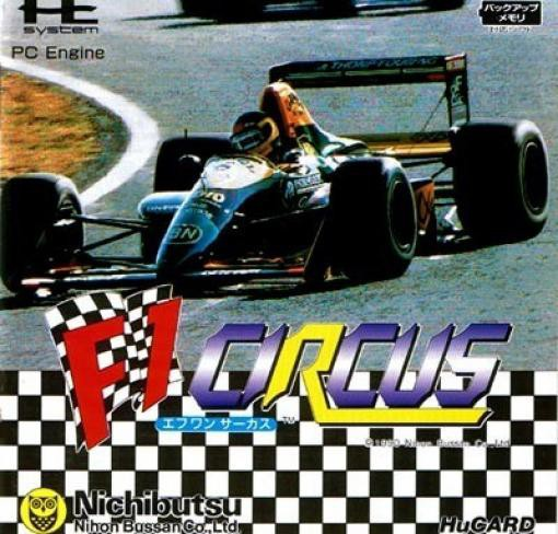 PC Engine / TurboGrafX 16 - F1 Circus