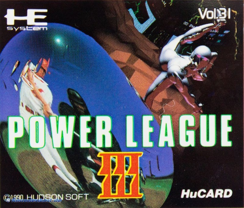 PC Engine / TurboGrafX - Power League III / 3 Vol. 31