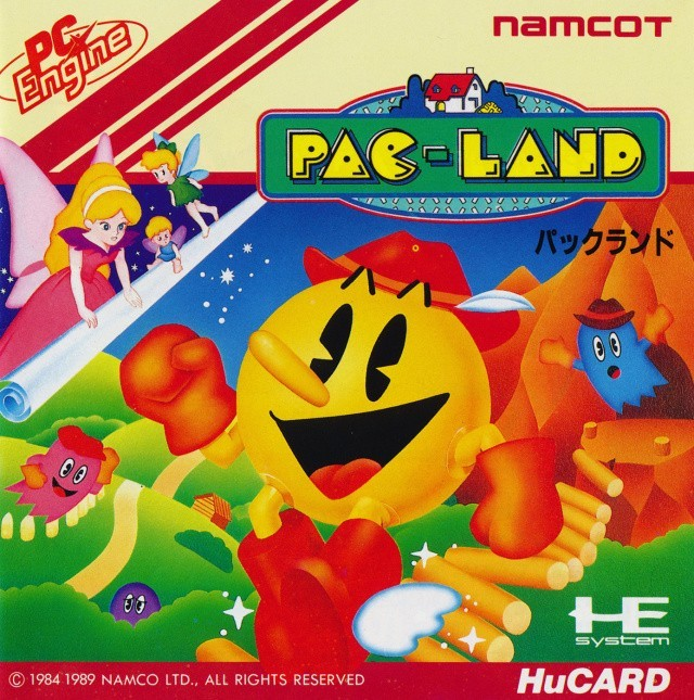 PC Engine / TurboGrafX 16 - Pac-Land