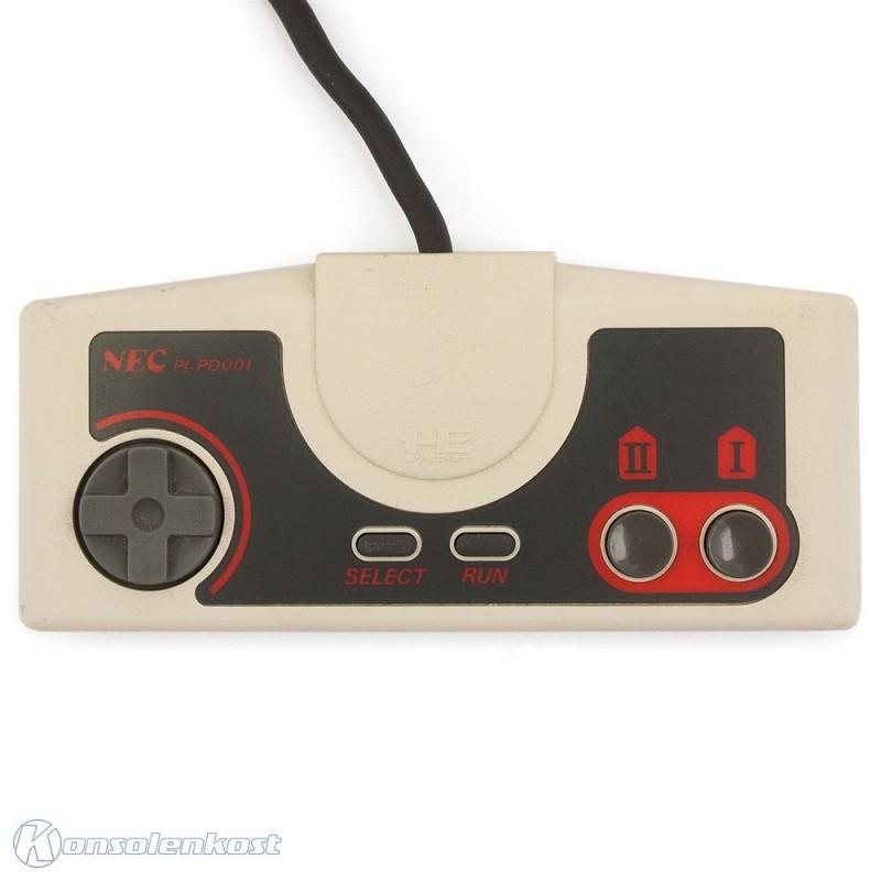 PC Engine / TurboGrafX 16 - Original Controller / Pad #weiß PI-PD001
