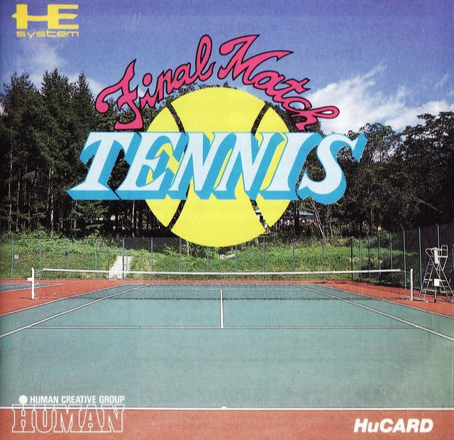 PC Engine / TurboGrafX 16 - Final Match Tennis