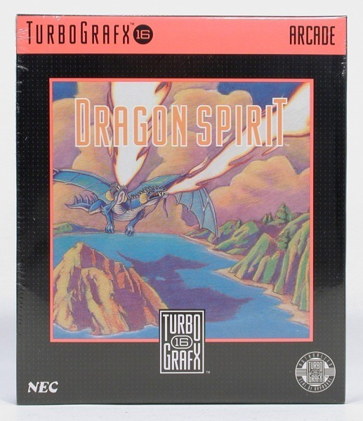 PC Engine / TurboGrafX - Dragon Spirit